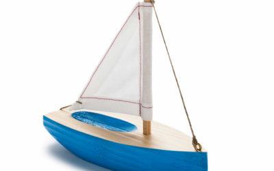En enkel seilbåt