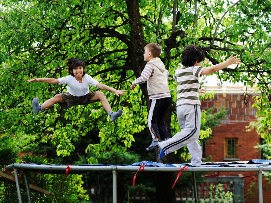 Hva man kan bruke trampolina til?
