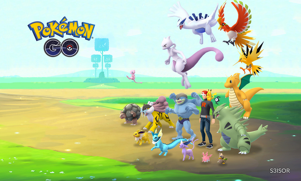 Pokemon Go tar online Gaming ut i det fri